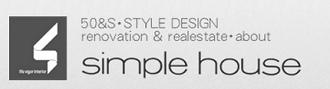 大阪のおすすめリノベ会社シンプルハウスのロゴ