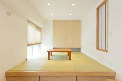 無垢材を使ったリノベーションデザイン実例~和室~